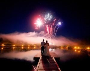 Hochzeit – Ein spektakuläres Feuerwerk
