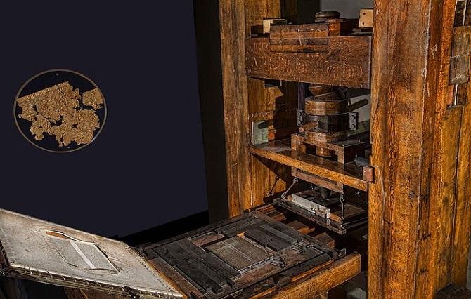 Gutenbergs Kunst – Vergangenheit